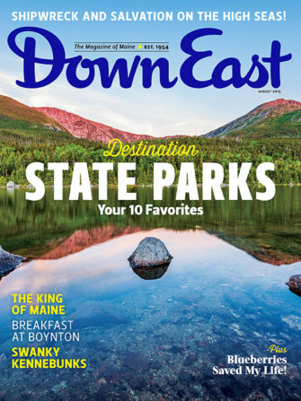 Down East Magazine August 2015
