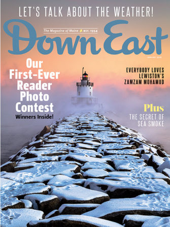 Down East Magazine January 2016