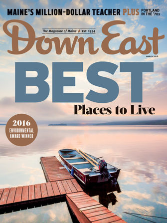 Down East Magazine March 2016