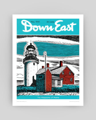 Down East Magazine May 1965 Cover Poster