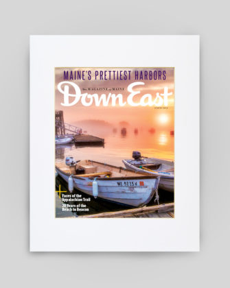August 2017 Cover Print - Two Boats