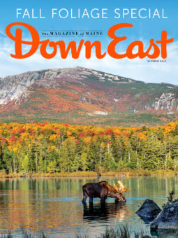 Down East Magazine October 2017 Cover