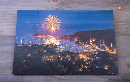 Camden Fireworks Metal Print