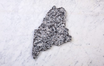 State of Maine Granite Cheeseboard
