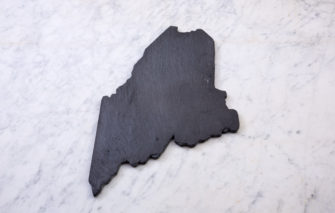 State of Maine Slate Cheeseboard