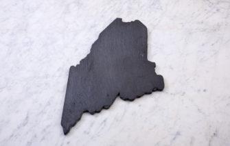 State of Maine Slate Cheeseboard
