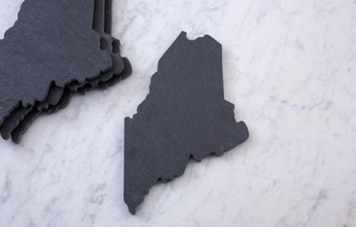 State of Maine Slate Coaster