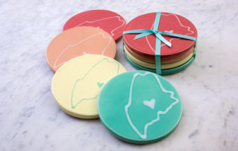 Maine Coasters by Lola Arts