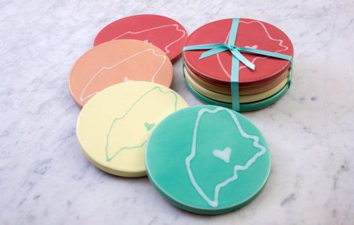 Maine Coasters by Lola Arts