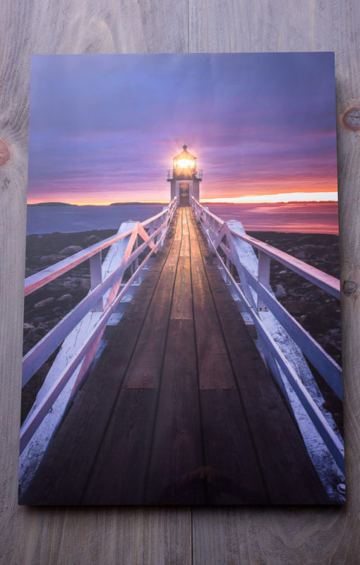 Marshall Point Boardwalk Metal Print
