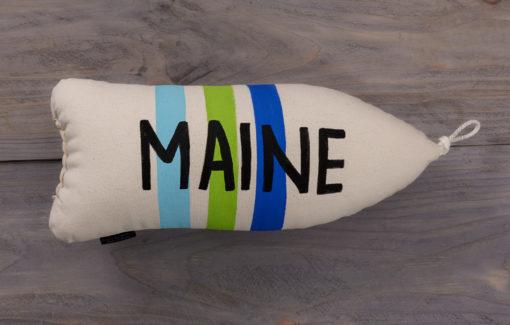 Cobalt Sky Studio - Maine Buoy Pillow