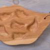 6 Well Oyster Platter - Birch