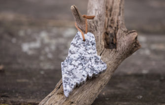 Granite Maine ornament by A and E Stoneworks