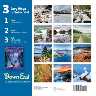 Down East 2019 Acadia Calendar