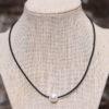 LESL Ware - Single Pearl Necklace - Little Black Dress