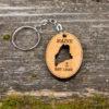 163 Design Company - Maine Cutout Keychain