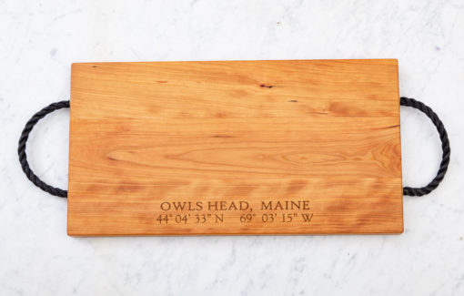 163 Design Company - Owls Head Serving Tray - Cherry