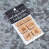 163 Design Co. - Magnet Set - Cottage - Natural in Packaging