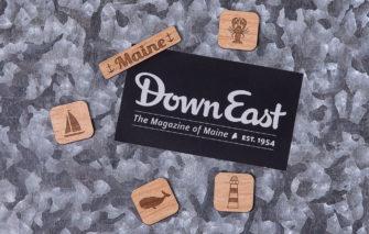 163 Design Co. - Magnet Set - Maine - Natural