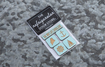 163 Design Co. - Magnet Set - The Way Life Should Be - Baby Blue in Packaging