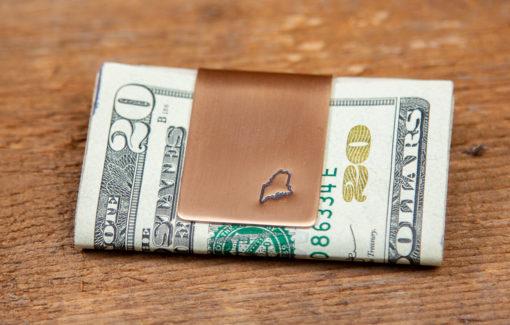 Hennessey Jewelry - Maine Money Clip - Bronze