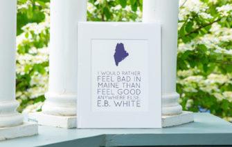 Stacey Kane Design - Print - E.B. White