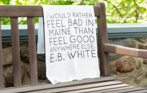 Stacey Kane Design - Tea Towel - E.B. White