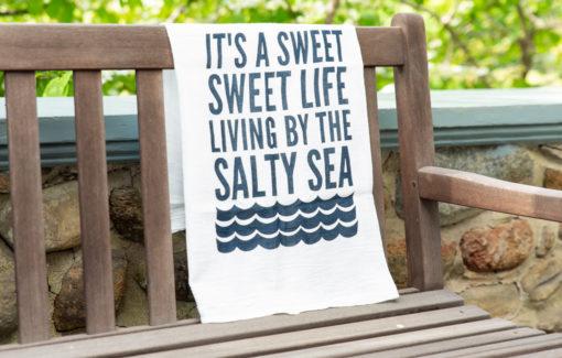 Stacey Kane Design - Tea Towel - Salty Saying