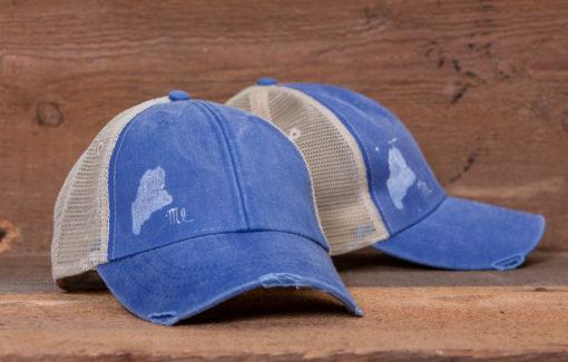 Amy Rose - Trucker Hat - Faded Blue