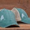 Amy Rose - Trucker Hat - Faded Green
