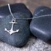 Gem Lounge - Anchor Heart Necklace