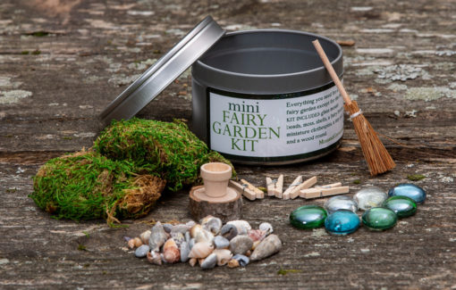 Moss and Grove - Mini Fairy Garden Kit - Contents
