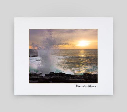 Sea to Shining Sea Matted Print