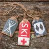 Unpolished Barn - Ski Skis Double Diamond