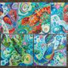 Caroline Clare Davis - Lobster Acrylics Group