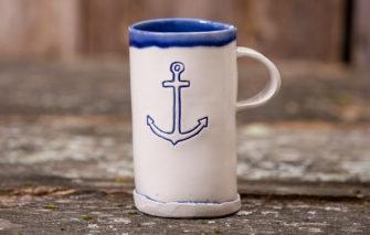 Jess Teesdale Pottery - Mug - Anchor