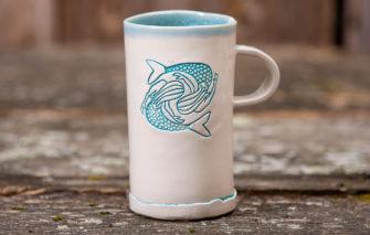 Jess Teesdale Pottery - Mug - Mermaids