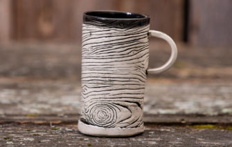 Jess Teesdale Pottery - Mug - Wood