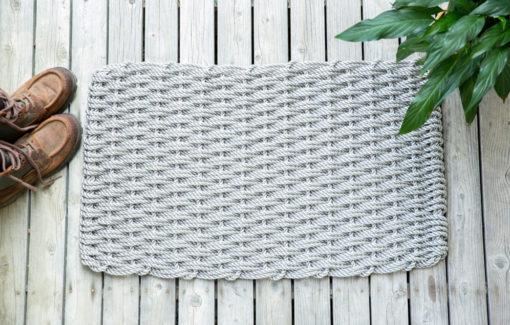 The Rope Co - Doormat - Dark Gray - Large