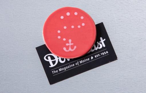Lola Arts - Magnet - Anchor - Coral