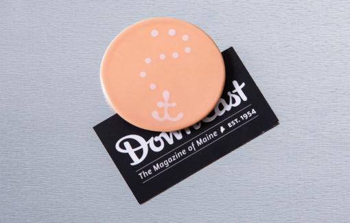 Lola Arts - Magnet - Anchor - Grapefruit