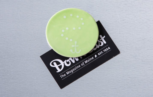 Lola Arts - Magnet - Anchor - Green