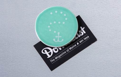 Lola Arts - Magnet - Anchor - Seafoam