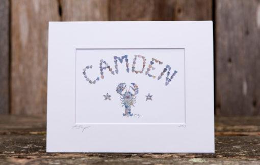 Love Rocks Me - 5x7 Print - Camden Lobster