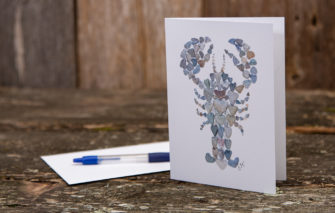 Love Rocks Me - Single Card - Lobster