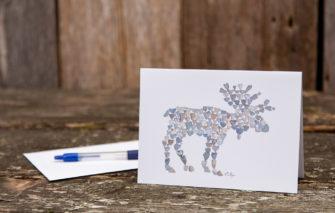 Love Rocks Me - Single Card - Moose