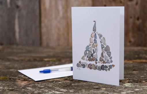 Love Rocks Me - Single Card - Sailboat