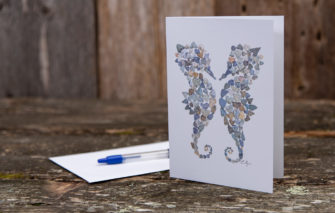 Love Rocks Me - Single Card - Seahorses