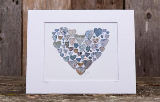 Love Rocks Me - 8x10 Print - Heart of Hearts