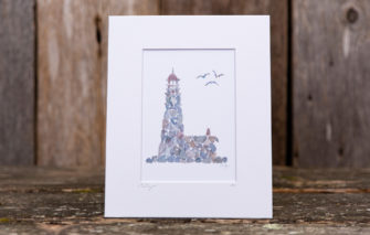 Love Rocks Me - 5x7 Print - Lighthouse